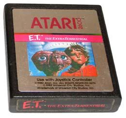 E.T. L'EXTRATERRESTRE E LA CRISI DEL 1983: Atari 2600 (1983)