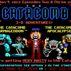CATACOMB 3D – A NEW DIMENSION – PC (1991)