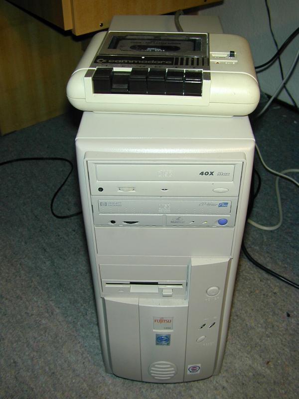 TUTORIAL: Collegare il Datassette C64 al PC