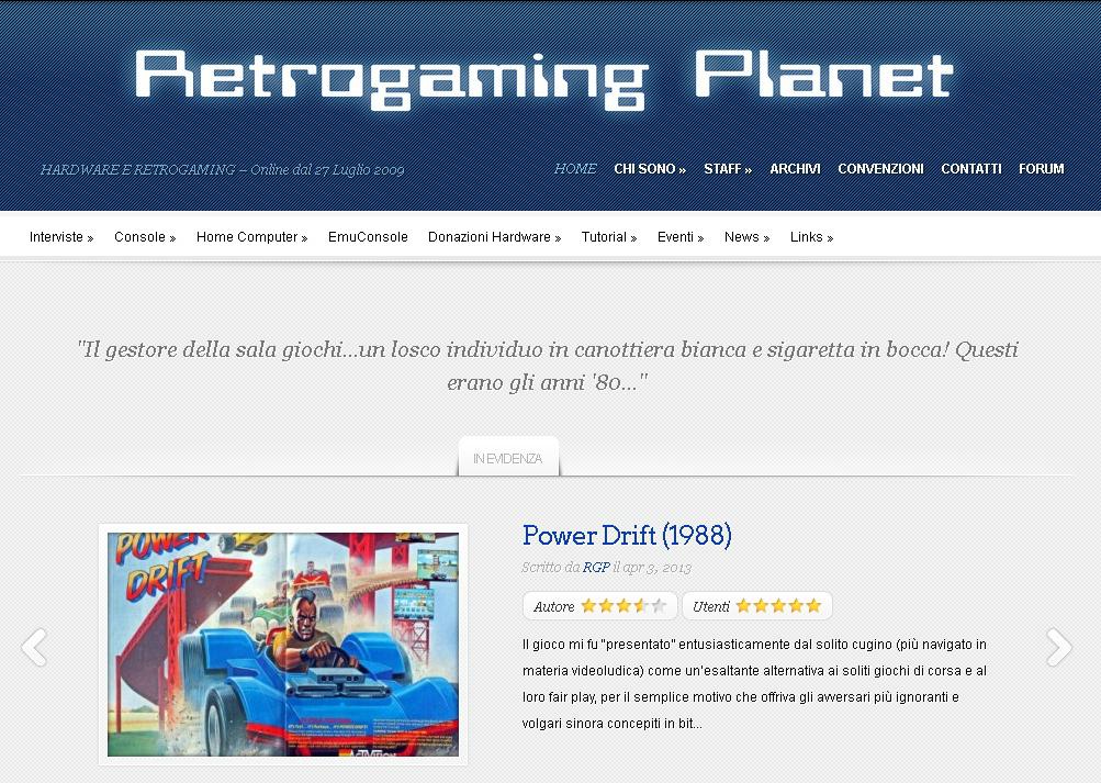 WoprBox si trasforma in Retrogaming Planet con una nuova interfaccia grafica...