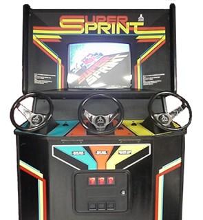 SUPER SPRINT – Coin-Op (1986)