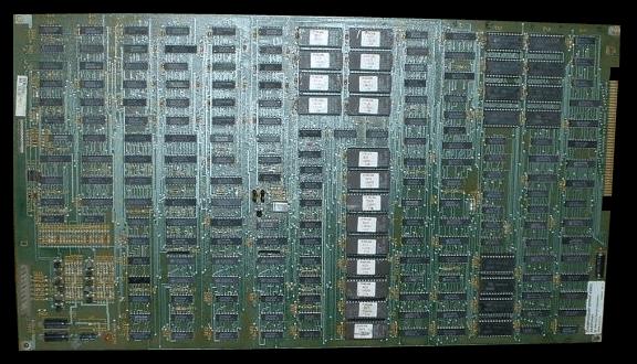 La scheda arcade originale di Championship Sprint