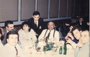 Un'altra immagine di gruppo al Devcon di Francoforte nel 1989
