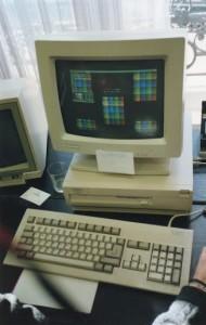 Art Nouveau e la palette retinata per simulare 256 colori su un A3000