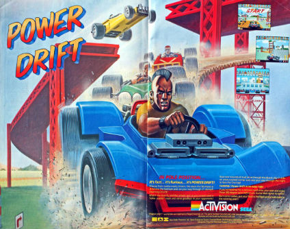 POWER DRIFT – Coin-Op (1988)