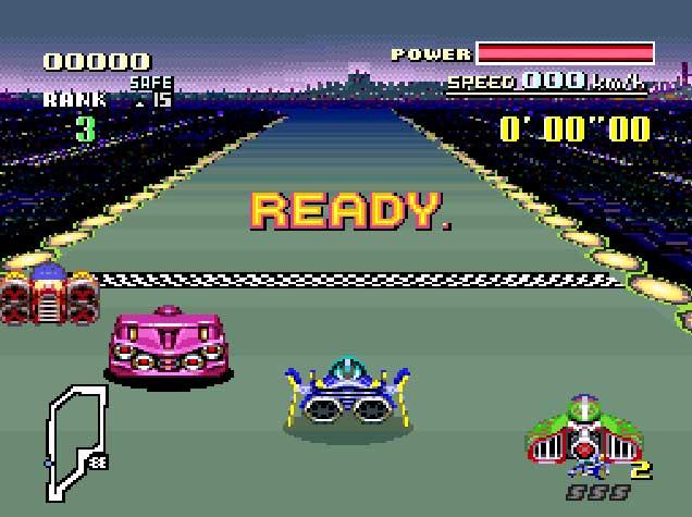 F-ZERO – Super Nintendo (1990)