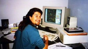 John Romero at work