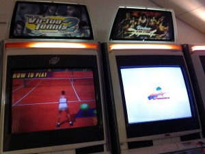 Virtua Tennis 2 e Virtua Fighter sempre di Sega...