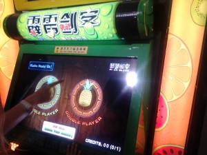 Il coin-op touch di Fruit Ninja