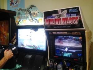 Top Gunner ed Air Pilots di Sega