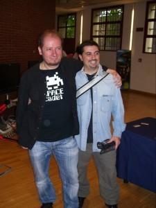 Robert Grechi e Bonaventura Di Bello al VGH 2010