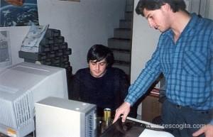 Bruno Molteni ed Eugenio Ciceri