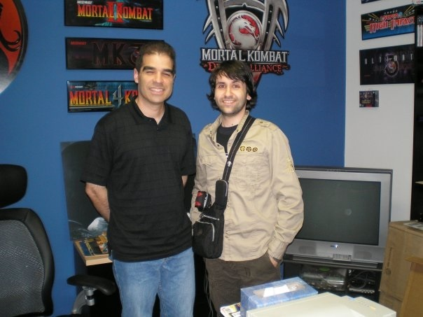 Con Mr. Mortal Kombat, Ed Boon, a Chicago