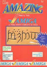 La cover di un numero di Amazing Amiga...