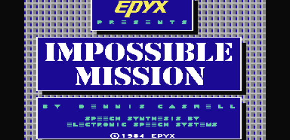 IMPOSSIBLE MISSION – All Versions (1984)