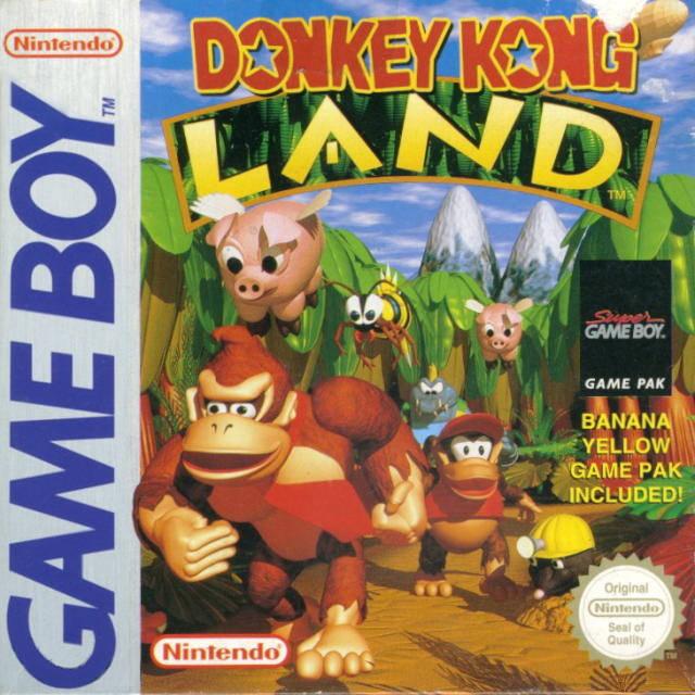 La simpatica Cover Box di Donkey Kong Land