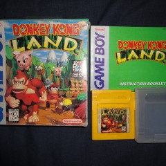 DONKEY KONG LAND – Game Boy (1995)