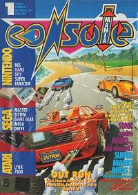La cover del primo numero di Consolemania...