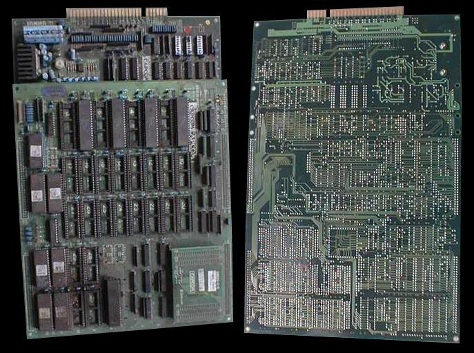 La scheda arcade CP System