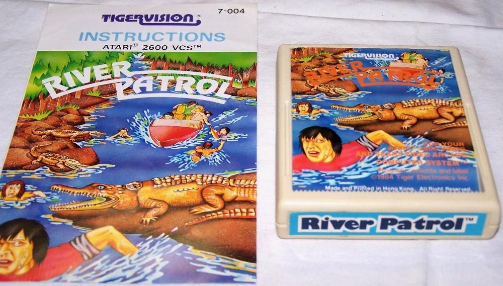 La cartuccia originale per Atari 2600 (Immagine su concessione del sito http://www.atarimania.com/)