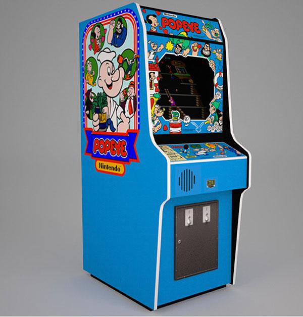 Il cabinato arcade originale