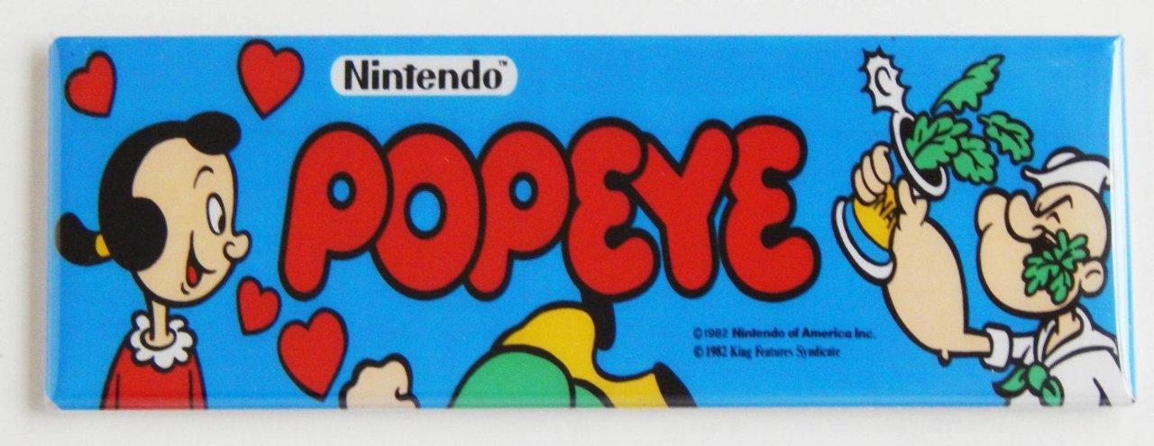 Il marquee del Coin Op di Popeye...