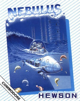 La cover di Nebulus per Commodore 64