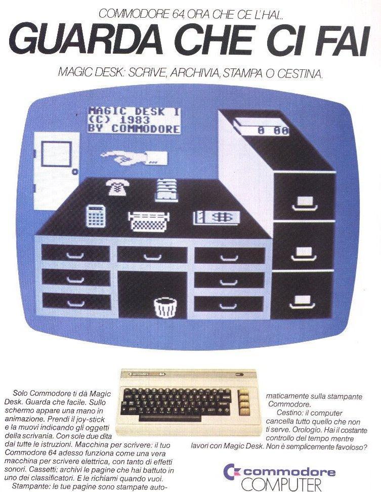 Con il Commodore 64 puoi farci tutto...