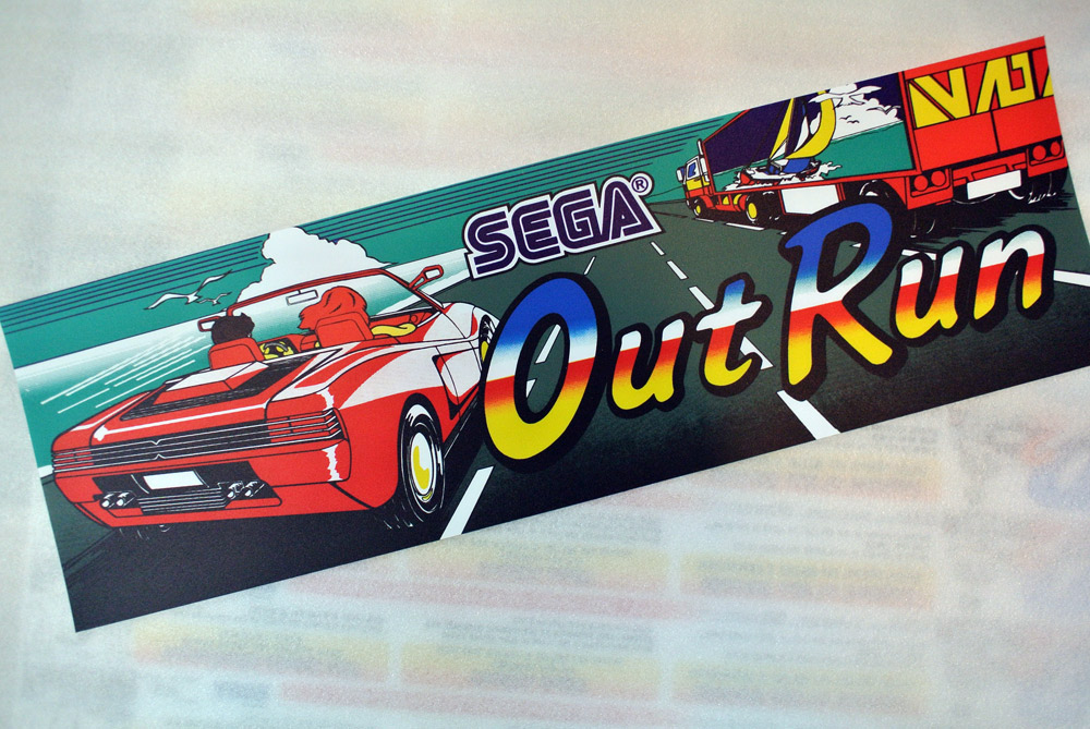 Lo splendido Marquee  di Out Run