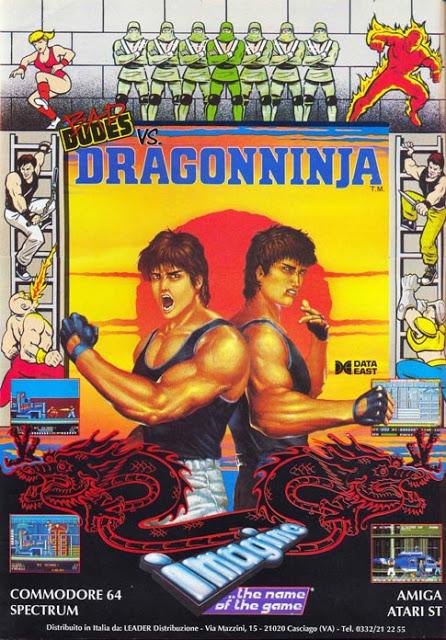 La splendida cover pubblicitaria del gioco