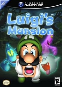 La Box Cover di Luigi's Mansion