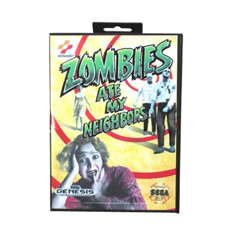 La Box Cover della versione Mega Drive/Genesis