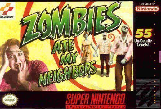 La Box Cover della versione Snes