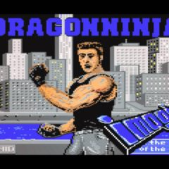 BAD DUDES VS. DRAGON NINJA – Commodore 64 (1988)