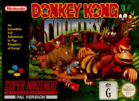 DONKEY KONG COUNTRY – Super Nintendo (1994)
