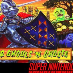 SUPER GHOULS 'N GHOSTS – Super Nintendo (1992)